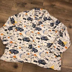 Pottery Barn Kids Star Wars Sleep Shirt Size XL